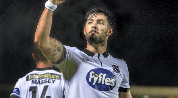 Richie Towell is staying with Dundalk for a third season. Photo: David Maher / SPORTSFILE