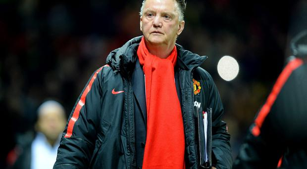Louis van Gaal was angered by Chris Foy's performance during Manchester United drawn FA Cup tie with Cambridge United. Photo: Martin Rickett/PA Wire