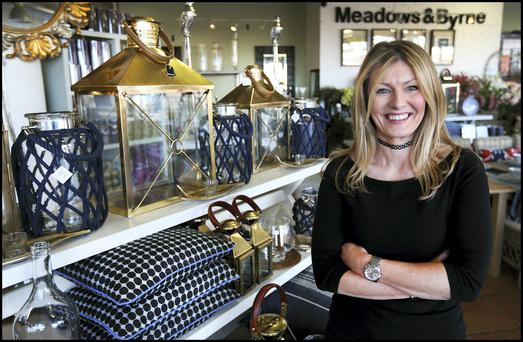 Suzie Teeling, Store Manager of Meadows & Byrne, reacts to news of Stena Line pulling out of Dun Laoghaire. Picture: Steve Humphreys