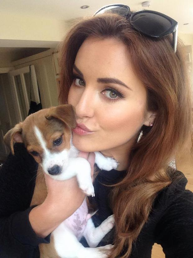 Holly Carpenter and her dog Toby