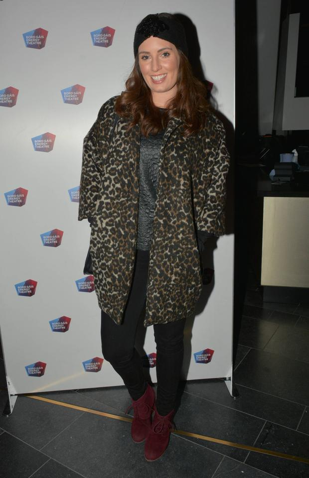 Aoibheann McCaul at the opening night of Jesus Christ Superstar at the Bord Gais Energy Theatre