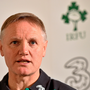 5 February 2015; Ireland head coach Joe Schmidt during a press conference. Carton House, Maynooth, Co. Kildare. Picture credit: Matt Browne / SPORTSFILE