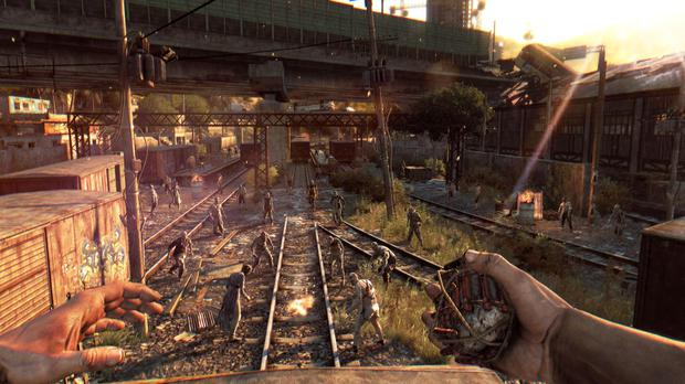 Dying Light: use distraction techniques to lead the hungry hordes away