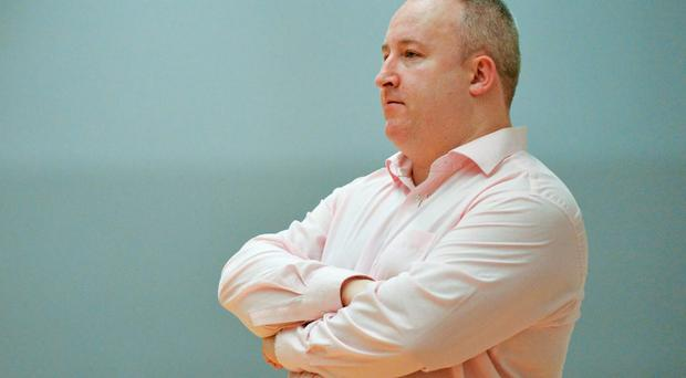 Dave Baker, head coach, Travelodge Swords Thunder