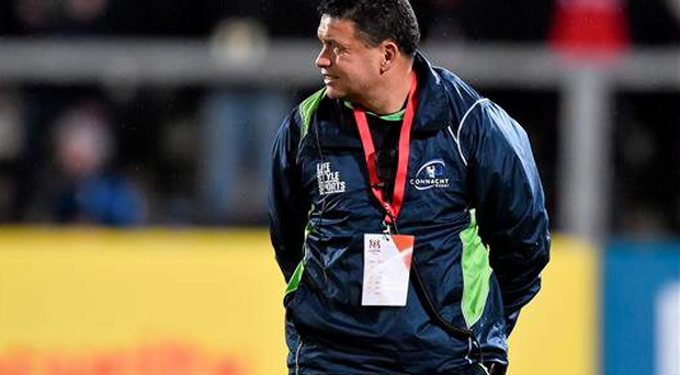Connacht backs and kicking coach Andre Bell (Sportsfile)