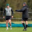 Ian Keatley and Joe Schmidt talk tactics