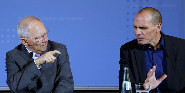 After yesterday's meeting between finance minister Yanos Varoufakis and his German counterpart Wolfgang Schaueble, Mr Varoufakis declined even to endorse the description that they had