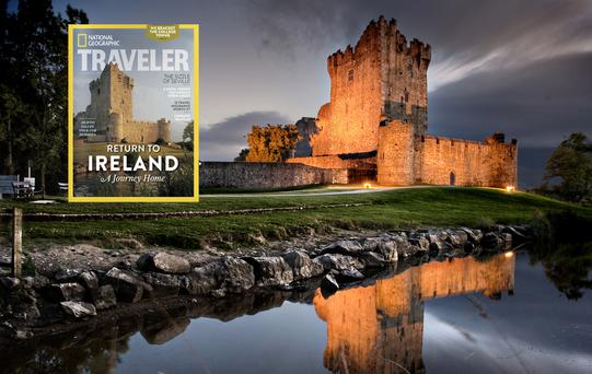 Ross Castle, Killarney. National Geographic Traveler features Kerry as its Feb/March 2015 cover story.