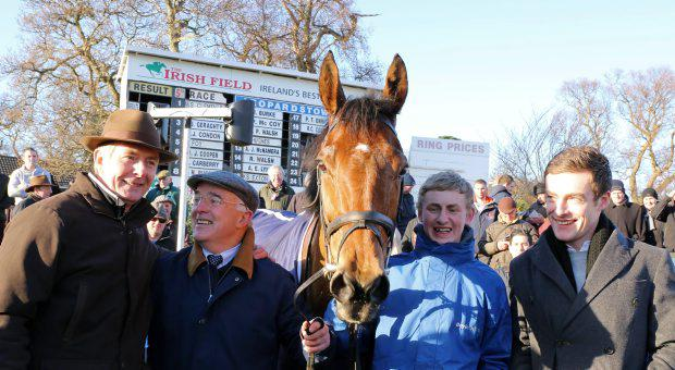 Foxrock with Barry Connell and Ted Walsh after winning