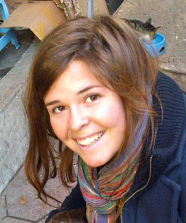 Kayla Mueller, 26, an American humanitarian worker from Prescott, Arizona is pictured in this undated handout photo obtained by Reuters February 6, 2015. REUTERS/Mueller Family/Handout via Reuters