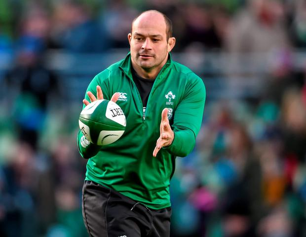 Rory Best is among the unprecedented core of natural leaders in the Ireland team