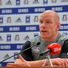 Paul O'Connell is refusing to look past today's opening clash with Italy at the Stadio Olimpico (Sportsfile)