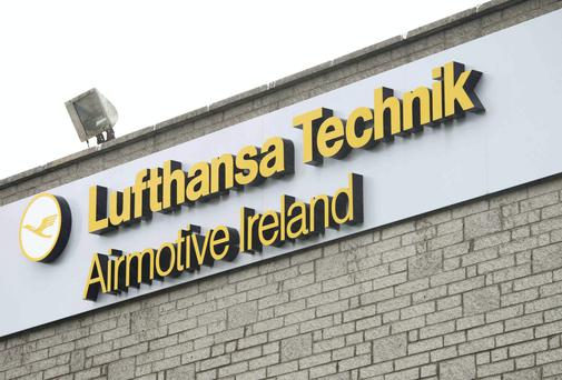 The closure of the plant, in Rathcoole, Co Dublin, resulted in 424 job losses in total across Lufthansa and two of its suppliers. Photo: El Keegan