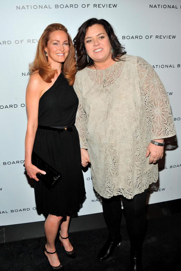 Rosie O'Donnell and Michelle Rounds. (Photo by Tasos Katopodis/Getty Images for Caesars Entertainment)