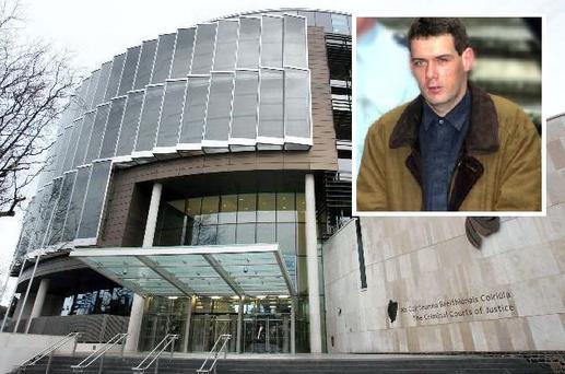 Dublin District Court heard how Edward Hutch (inset) believed his uncle and father were trying to turn him into a woman