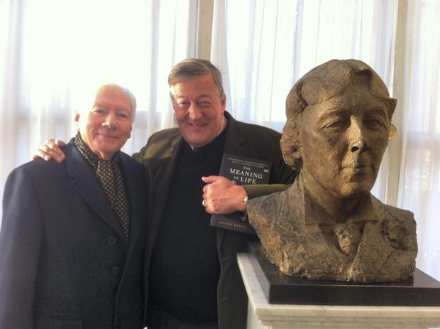 Whats it all about then? Gay Byrne and Stephen Fry