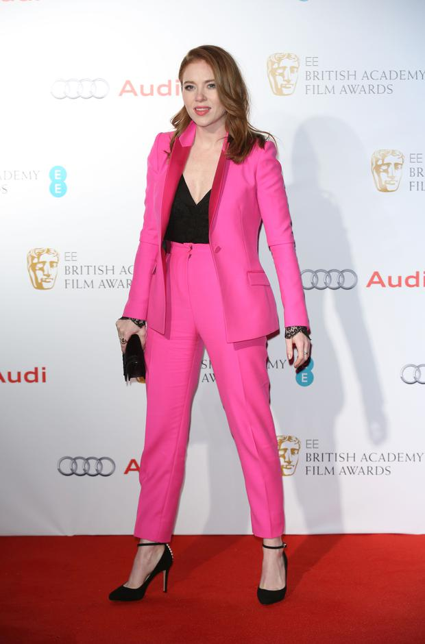 Angela Scanlon attends the EE British Academy Awards nominees party at Kensington Palace
