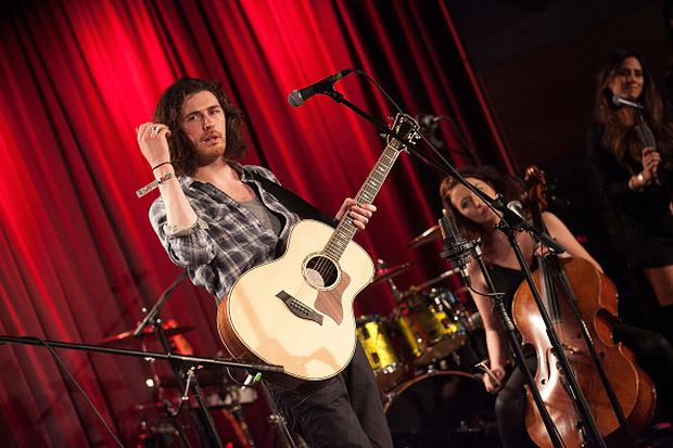 Hozier performs at the 106.7 KROQ Pre GRAMMY Party At The GRAMMY Museum