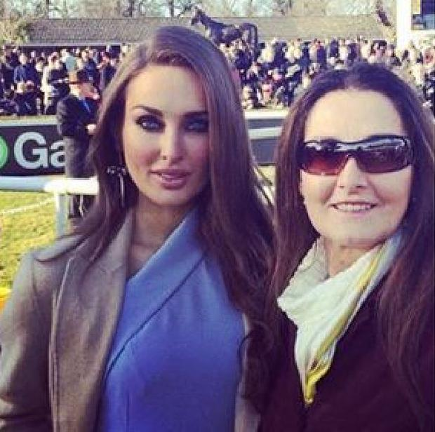 Roz Purcell with her mother Cecily