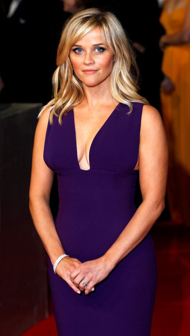 Reese Witherspoon arrives at the British Academy of Film and Arts (BAFTA) awards ceremony at the Royal Opera House in London February 8, 2015. REUTERS/Suzanne Plunkett
