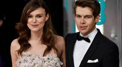 Actress Keira Knightley and her husband, musician James Righton