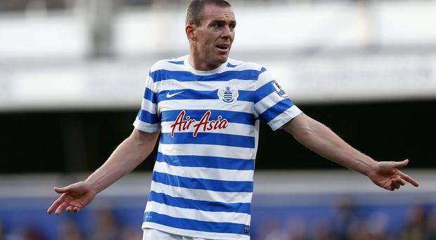 Queens Park Rangers defender Richard Dunne has been ruled out for three months with a knee injury, which effectively marks the end of his season. Photo: Julian Finney/Getty Images