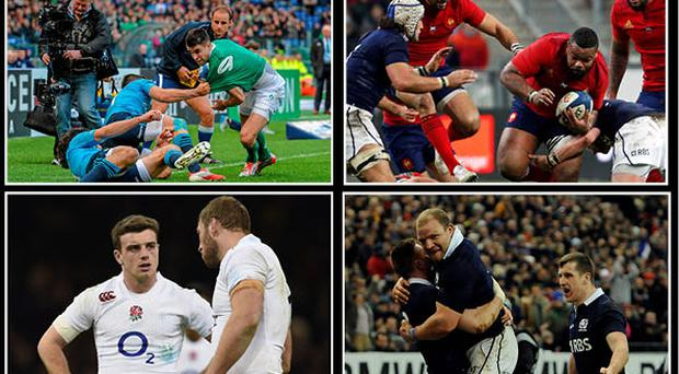 Conor Murray, Mathieu Bastareaud, George Ford and Dougie Fife are included
