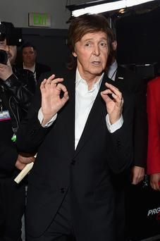 Recording artist Paul McCartney attends The 57th Annual GRAMMY Awards at STAPLES Center on February 8, 2015 in Los Angeles, California.