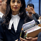 Human rights lawyer Amal Alamuddin Clooney. Photo: Reuters