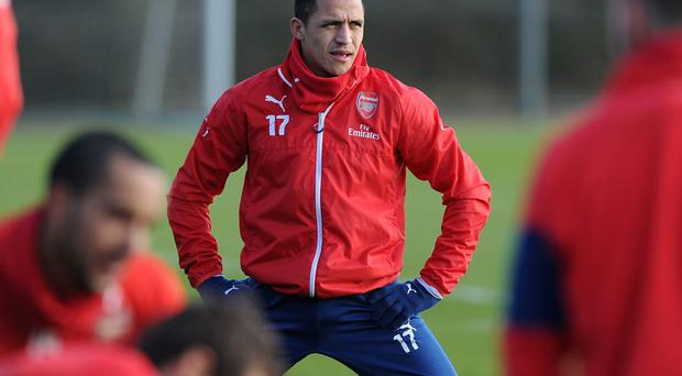 Arsenal manager Arsene Wenger is confident that Alexis Sanchez is now fully ready to play through the second half of the season. Photo: Stuart MacFarlane/Arsenal FC via Getty Images