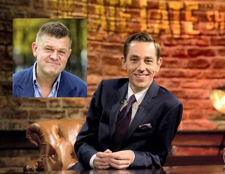 Ryan Tubridy and Brendan O'Connor (inset)