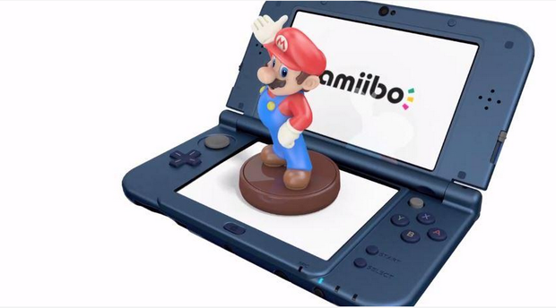 The New Nintendo 3DS features NFC, which enables the use of Amiibo characters in games, though none are yet enabled