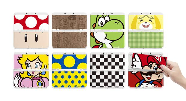 The smaller New Nintendo 3DS has changeable faceplates, some of which are just gorgeous