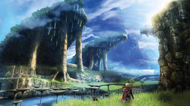 Xenoblade Chronicles 3D will be the first 3DS game to take advantage of the new console's horsepower