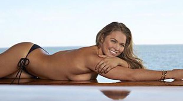 Ronda Rousey poses for Sports Illustrated. Pic credit: Instagram: rondarousey