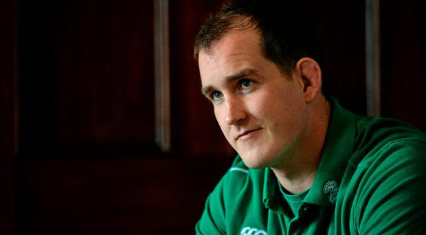Devin Toner bemoaned Ireland's sloppy lineout ahainst Italy as they prepare to face France, the best functioning set-piece of round one. Photo: Brendan Moran / SPORTSFILE
