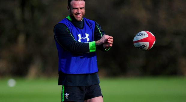 Wales centre Jamie Roberts says 'all the players trust the medical staff'. Photo: Stu Forster/Getty Images