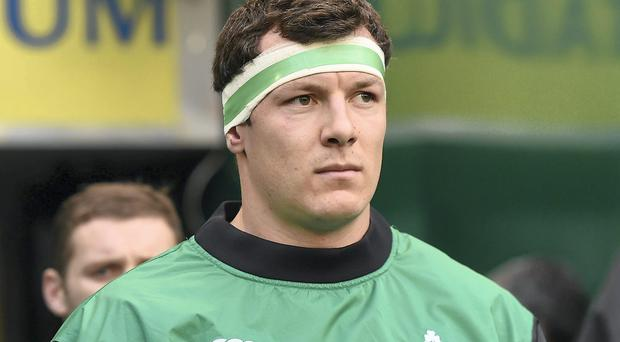 There are fears that Robin Copeland might require surgery on a neck injury suffered against Leinster in December. Photo: Brendan Moran / SPORTSFILE