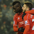 Mario Balotelli didn't celebrate his first Premier League goal for Liverpool