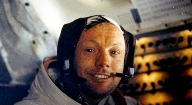 July 20, 1969 file photo provided by NASA shows Neil Armstrong