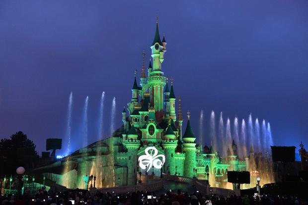 Greening, SLEEPING BEAUTY'S CASTLE AT DISNEYLAND® PARIS JOINS TI'S GLOBAL GREENING.JPG