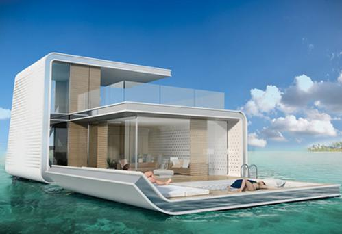 People plan to pay up to €1.2m for each under water villa.