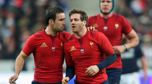 France's new out-half Camille Lopez, right, can run a show and give rational direction to the French side when they need it,, especially when his scrum-half partner at Clermont Auvergne, Morgan Parra (left) is likely to be sprung from the bench at some stage
