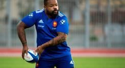 Mathieu Bastareaud will test the Irish defence this weekend at the Aviva Stadium.
