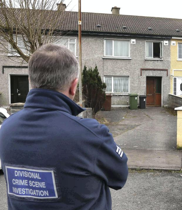 The house where a brother and sister were found dead. Photo:Andrew Downes
