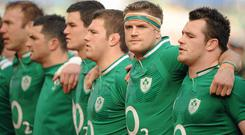 Jamie Heaslip, Jonathan Sexton and Sean O'Brien return to the starting XV while Cian Healy is named on the bench