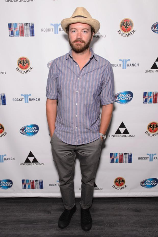 CHICAGO, IL - JULY 31: Danny Masterson attends during Lollapalooza Weekend at The Underground on July 31, 2014 in Chicago, Illinois. (Photo by Daniel Boczarski/Getty Images)