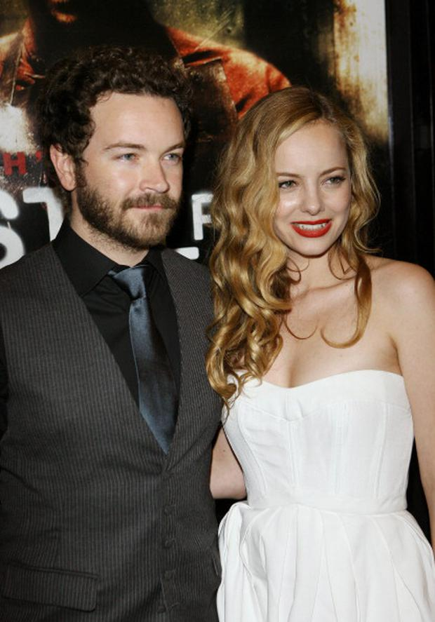 Danny Masterson and Bijou Phillips during