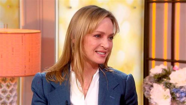 Uma Thurman on Today, NBC