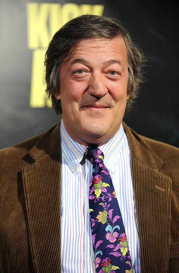 Actor Stephen Fry (Photo GABRIEL BOUYS/AFP/Getty Images)